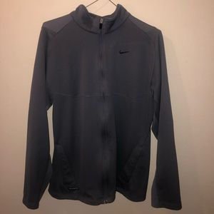 Nike Grey (Swoosh) Windrunner jacket